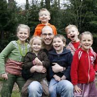 Groepsfoto familieportret
