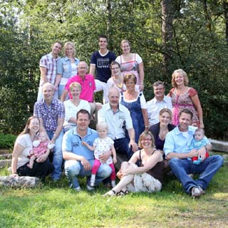 Familieportret fotoshoot