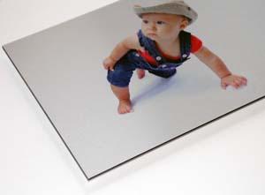 Afdrukken foto op aluminium of forex