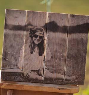 Foto op hout of forex
